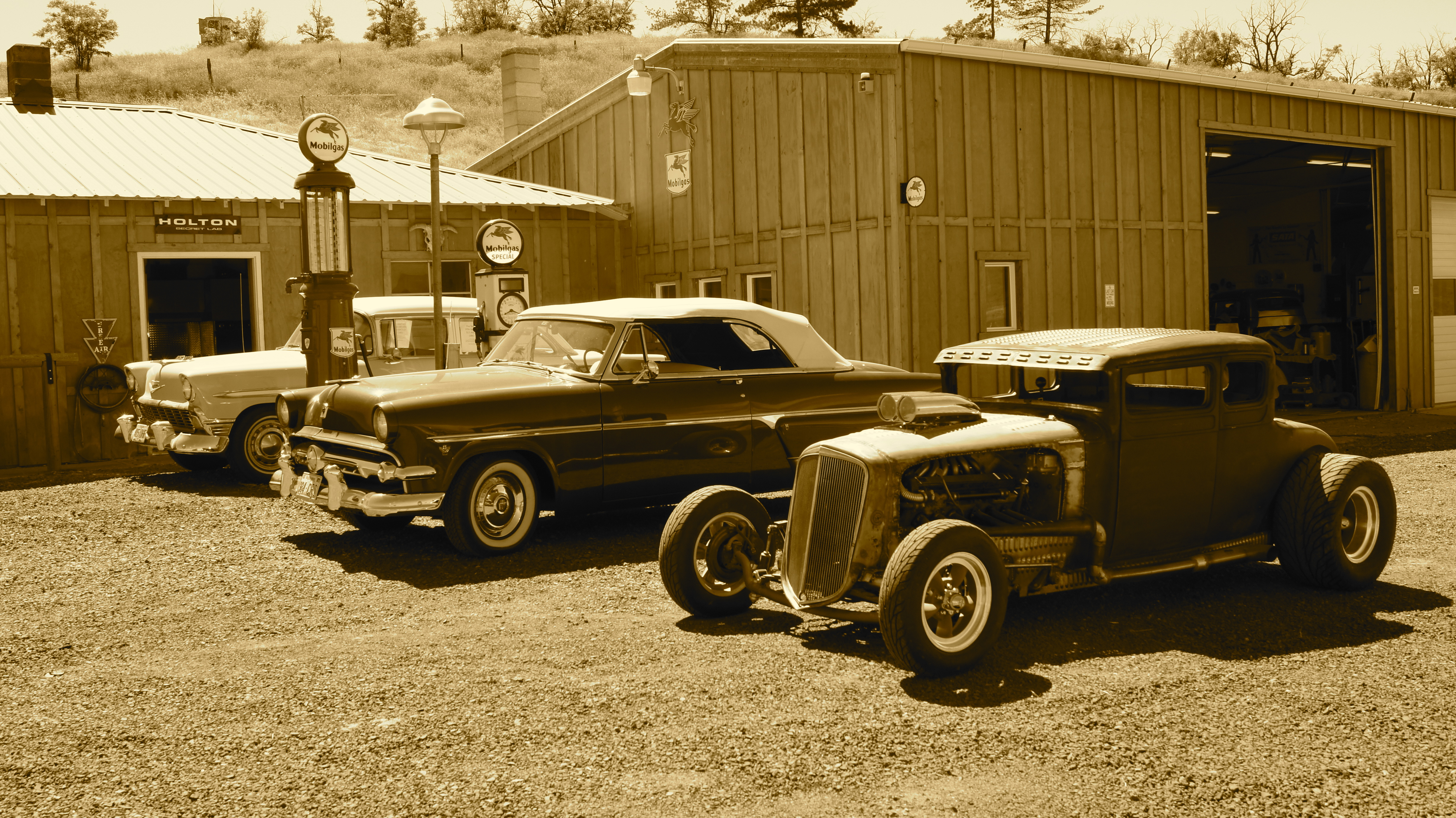 The Secret Lab Of Hot Rods | Hot Rod Cowgirl